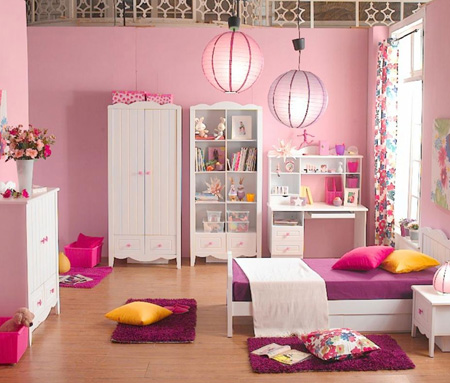 Pintura de interior para dormitorios infantiles pintura - Pintura dormitorios infantiles ...
