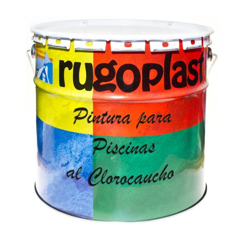 Pintura para instalaciones deportivas rugoplast tu tienda de pintura pintura para fachadas - Pintura piscina clorocaucho ...
