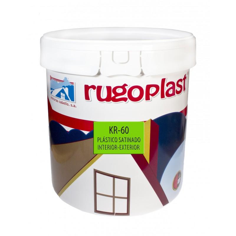 Kr 60 satinado pintura para fachadas pintura para - Pintura plastica satinada ...